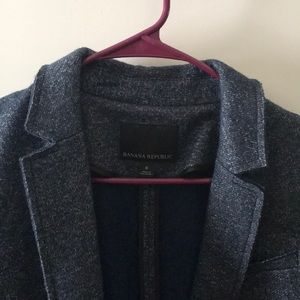 Blue grey coat